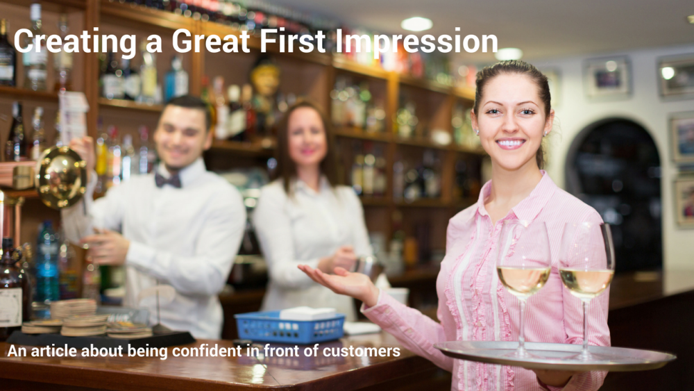 An article by Ian Graham of Swayed Greyhound on how to be confident in front of customers