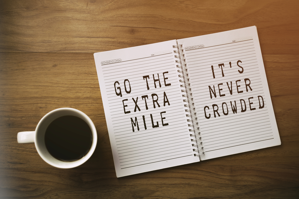 An article by Ian Graham of Swayed Greyhound about companies and individuals going the extra mile